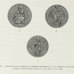 Schweizer Münzen mit dem Bildnis von Sankt Martin, Anfang des 16. Jahrhunderts