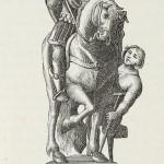 """Sankt Martin, Illustration aus """"Tableau de la croix"""", Paris, 1651"""