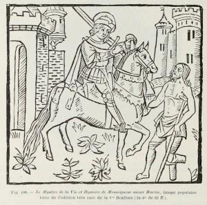 Das Mysterium des Lebens und der Geschichte von Sankt Martin, populäres Bild
