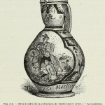 Sankt Martin - Mostkrug aus der Sammlung des Abbé Guiot (1761)
