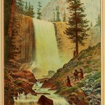 Beauties of California - Vernal Falls