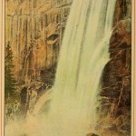 Beauties of California - Profile of Vernal Falls