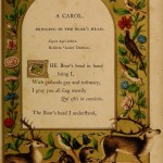 Bringing in the Boar's Head - A Booke of Christmas Carols