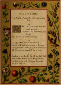 The Star Song - A Booke of Christmas Carols