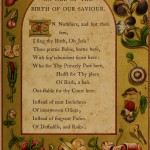 An Ode of the Birth of our Saviour - A Booke of Christmas Carols
