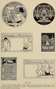 Weihnachtskarten - Verschiedene Techniken
