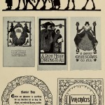 Weihnachtskarten - Silhouette / Collage