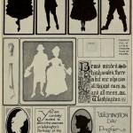 Vorschläge für Washington's Geburtstag - Silhouetten / Scherenschnitt
