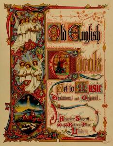 Old English Carols - Title Page