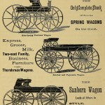 The Sanborn Wagon leads all others in Style, Finish, Durability
