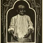 Her Navajo Lover (W. H. Robinson) - Porträt Tuck Hing - Holzschnitt