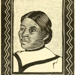 """Mary - aus """"Her Navajo Lover"""" (W. H. Robinson) - Porträt - Holzschnitt"""