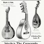 The Mandolin Orchestra, The Crescendo H. F. Odell Beare & Son - Portuguese Guitarra, Spanish Bandurria, Milanese Mandoline