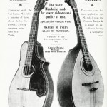 The finest Mandolins made for power, richness and quality of tone