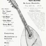 "The ""Concert Grand"" De Luxe Mandolin"