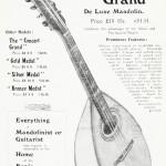 """The """"Concert Grand"""" De Luxe Mandolin"""