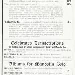Methods for the Mandolin