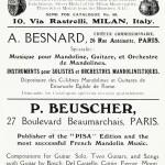 A. Monzino & Sons, A. Besnard, P. Beuscher