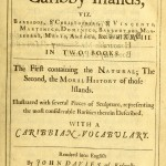 The History of the Caribby Islands (1666) - Titelseite