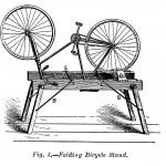 Zusammenklappbarer Fahrradreparaturständer