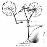 Fahrradständer mit Tisch