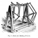 Ständer für Fahrradrahmen
