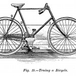 Ausrichten des Fahrrads