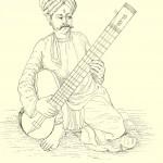 A Sitar Player