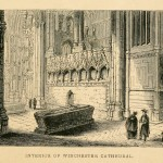 Interior of Winchester Cathedral