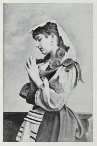 Betende Frau