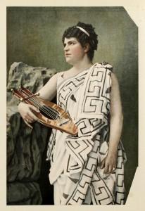 Madame Sophia Scalchi als Orpheus