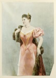 Madame Marcella Sembrich als Violetta