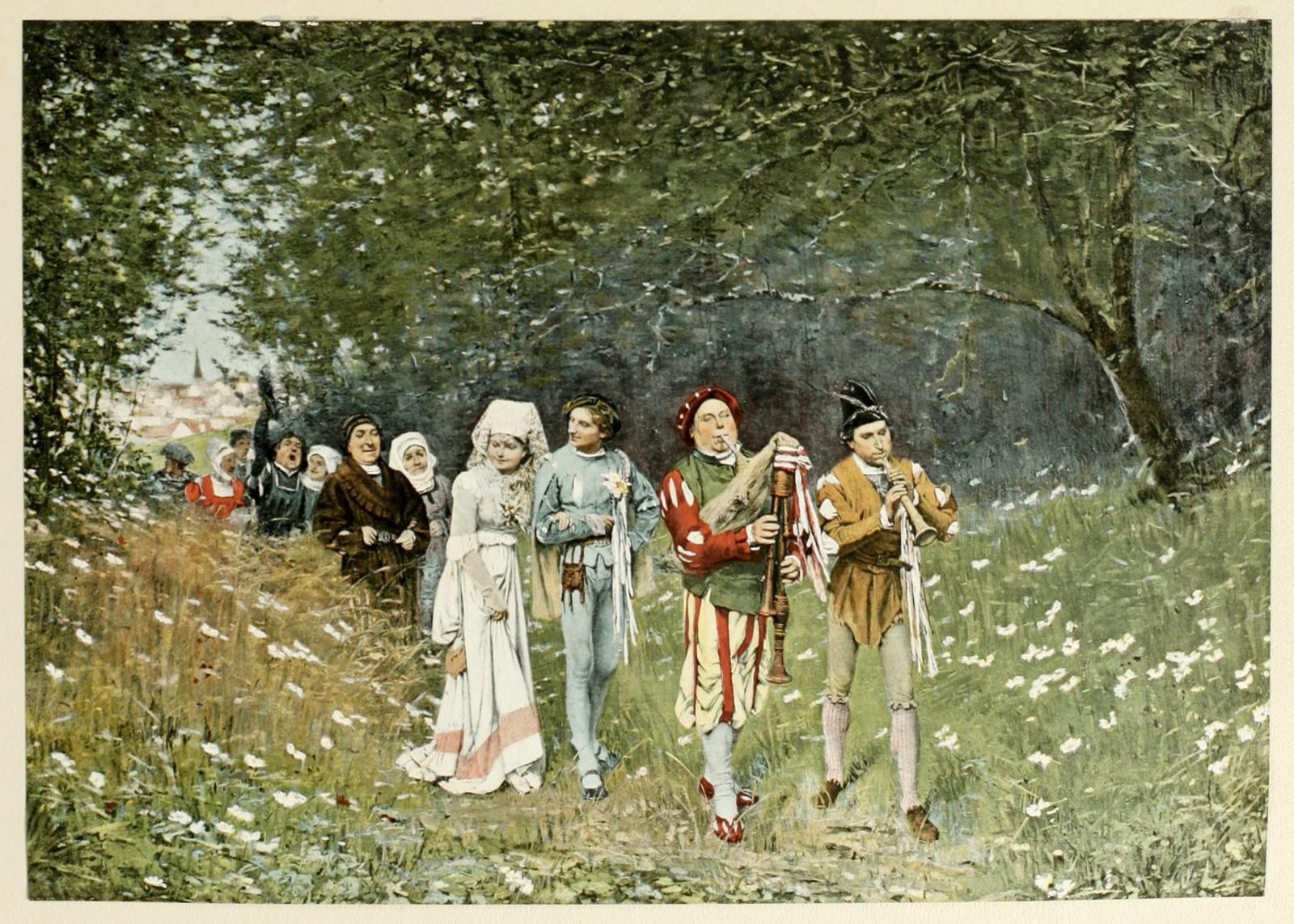 Mittelalter Hochzeit