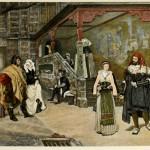 Begegnung von Faust und Marguerite