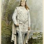 Van Dyck als Lohengrin