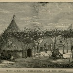 West African Habitations, Near the Congo