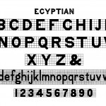 Alphabet Egyptian