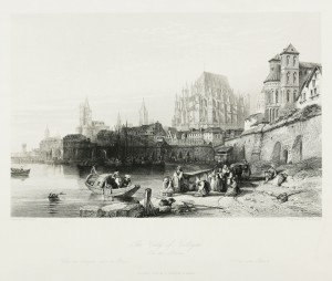 The City of Colgne on the Rhine