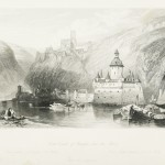 Caub, Castle of Gutenfels and the Pfalz