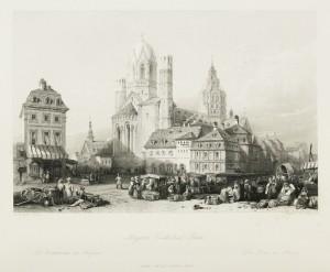 Mayence Cathedral - Rhine