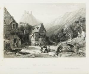 Valley near Oberwesel - Rhine