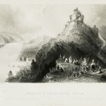 Braubach and the Castle of Marksburg, Rhine