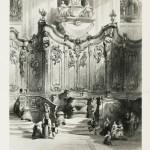 Screen in Mayence Cathedral, Rhine