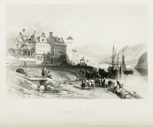 Boppart on the Rhine