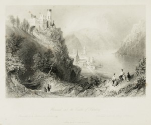 Oberwesel and the Castle of Schönberg