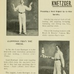 Louis Knetzger - Presenting a Novel Original Up-to-Date Speciality