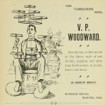 V. P. Woodward - Balancing, juggling and spinning tambourines on hands, knees and head