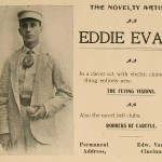 Eddie Evans - In a clever act with electric clubs - also the novel bell clubs