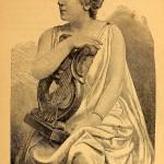 Marie Roze (mit Leier)