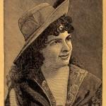 """Annie Pixley as """"M'liss"""""""